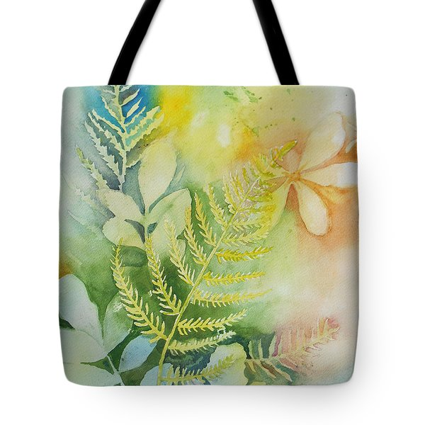 Ferns 'n' Leaves Tote Bag