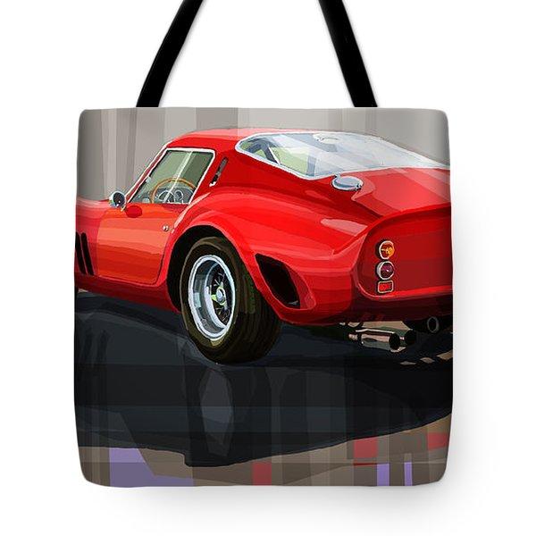 Ferrari 250 Gto Tote Bag by Yuriy Shevchuk
