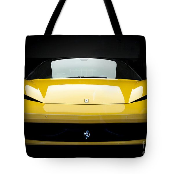 Ferrari 458 Tote Bag by Matt Malloy