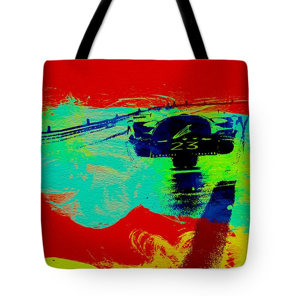 Ferrari 512 On Race Track 2 Tote Bag