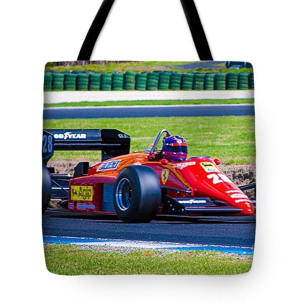 Ferrari At Phillip Island Tote Bag