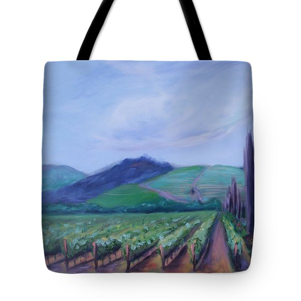 Ferrari Carano Vineyard Tote Bag by Donna Tuten