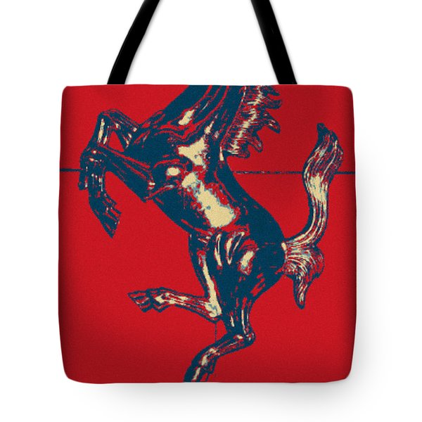 Ferrari Stallion In Hope Tote Bag