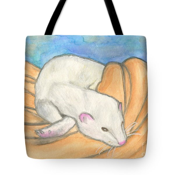 Ferret's Favorite Blanket Tote Bag
