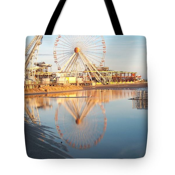 Ferris Wheel Jersey Shore 2 Tote Bag