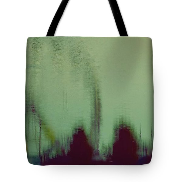 Tote Bag featuring the photograph Ferris Wheel Reflection by Patricia Strand