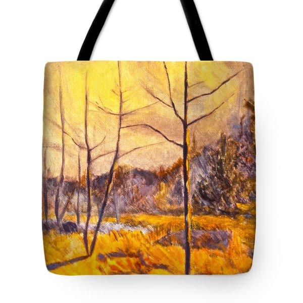 Ferrum Tote Bag by Kendall Kessler