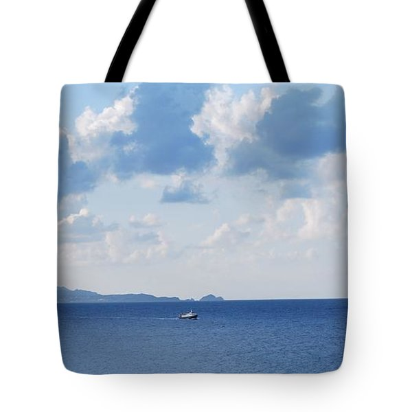 Ferry On Time Tote Bag