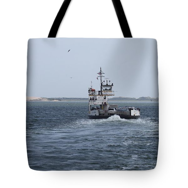 Ferry To Ocracoke 5 Tote Bag