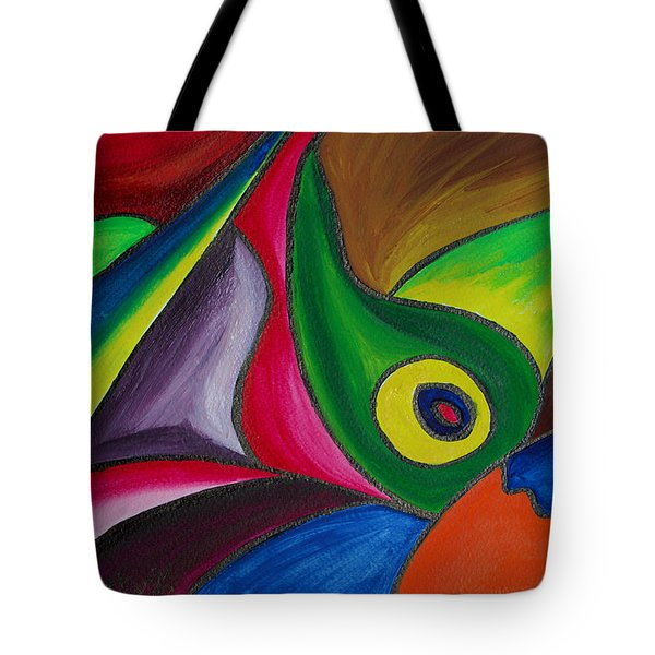Fertile Ground Tote Bag by Donna Blackhall
