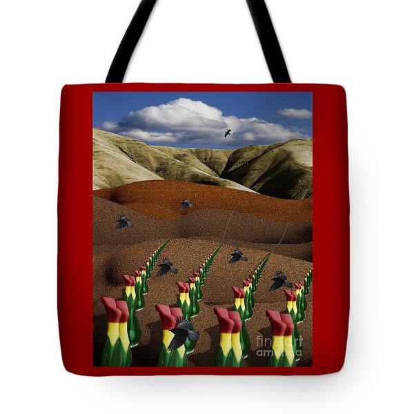 Fertile Ground Tote Bag by Keith Dillon