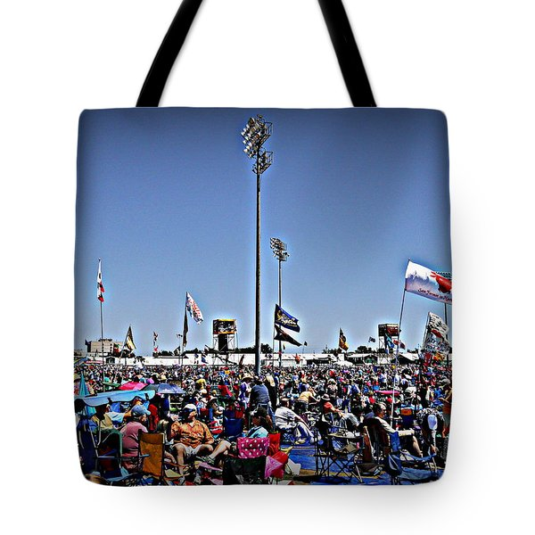 Fest Crowd Tote Bag