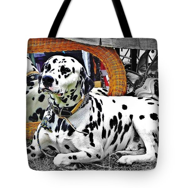 Festival Dog Tote Bag