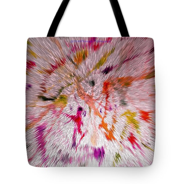 Festival Of Colours Tote Bag by Sonali Gangane