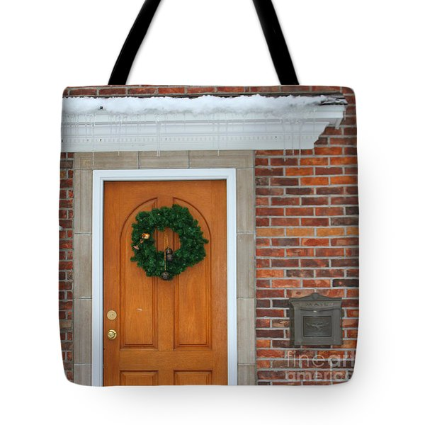Adventure Suites Hotel Festive Post Office Tote Bag