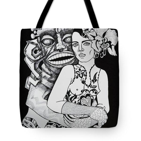 Fetish Girl Tote Bag