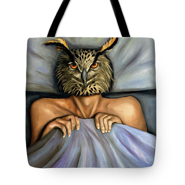 Fetish Nightmare 2 Tote Bag by Leah Saulnier The Painting Maniac