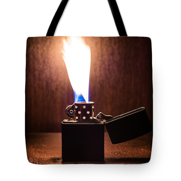 Feuer Tote Bag by Tgchan