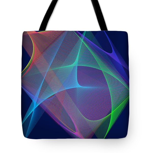Tote Bag featuring the digital art Fever by Karo Evans