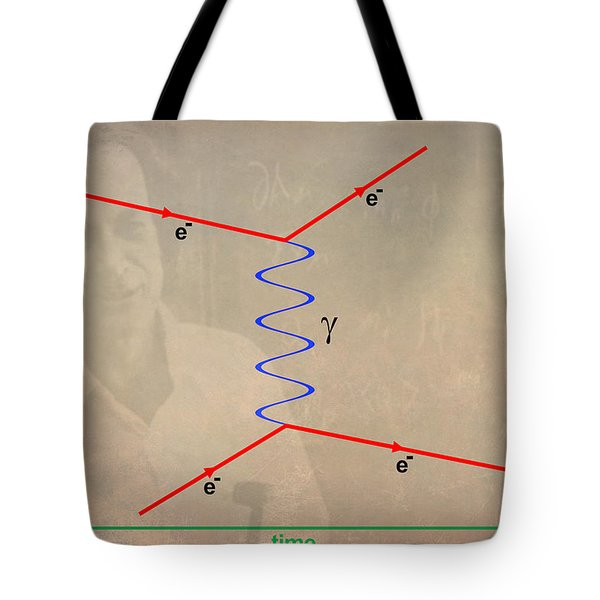 Feynman Diagram Tote Bag
