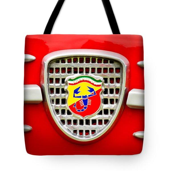 Fiat Emblem Tote Bag by Jill Reger