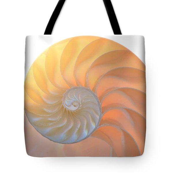 Tote Bag featuring the photograph Fibonacci by Melanie Moraga