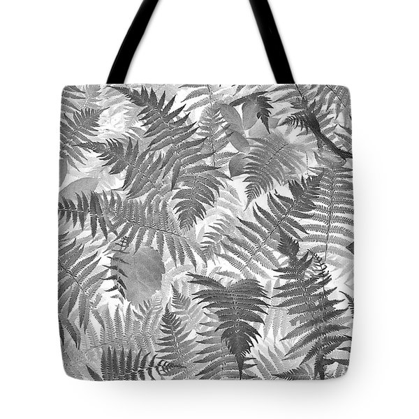 Fiddlehead Ferns Tote Bag
