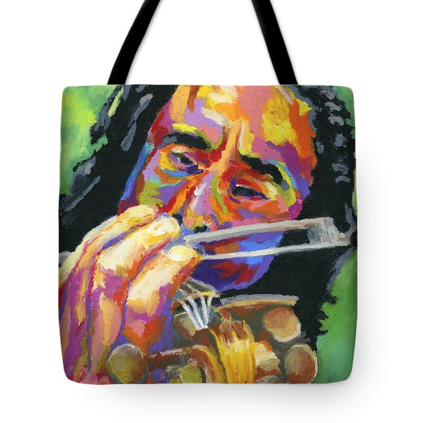 Fiddling For Free Tote Bag by Stephen Anderson