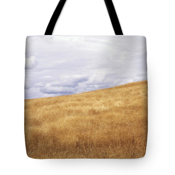 Field And Sky Near Rock Creek, South Tote Bag by Bert Klassen