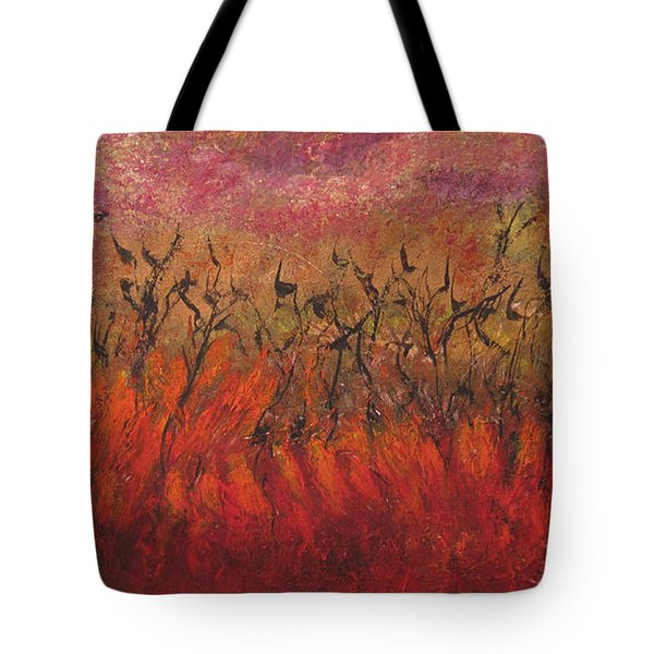 Field Dance Tote Bag