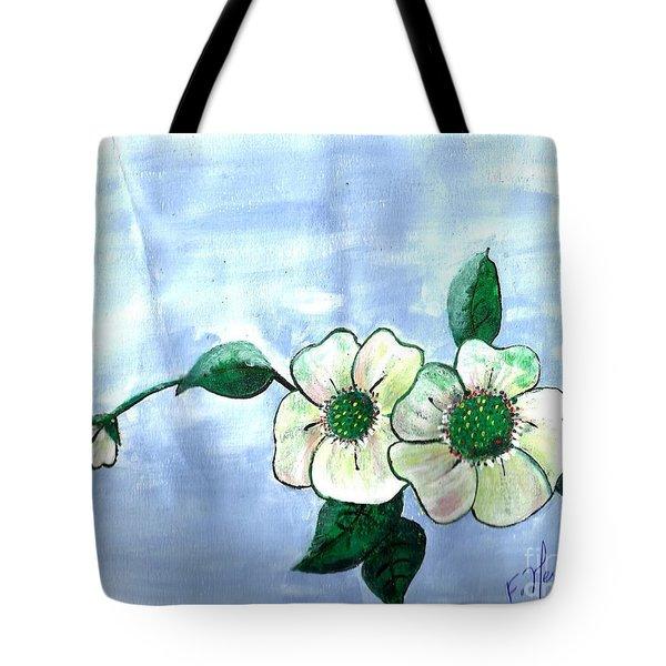 Field Flowers Tote Bag by Francine Heykoop