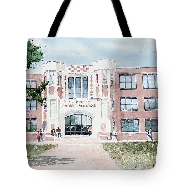 Field Kindley Memorial High School Tote Bag