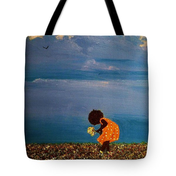 Field Of Colors Tote Bag by Edith Peterson-Watson