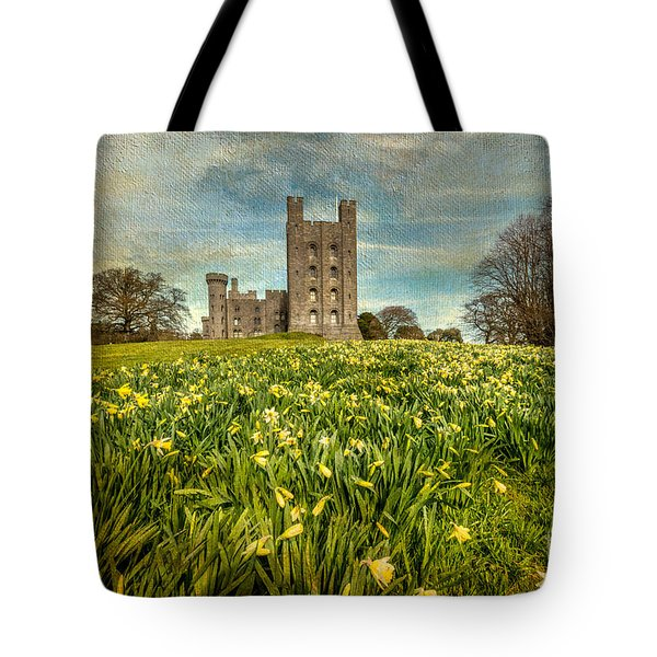 Field Of Daffodils Tote Bag by Adrian Evans