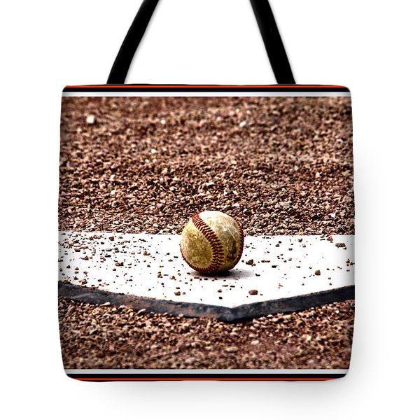 Field Of Dreams The Ball Tote Bag by Susanne Van Hulst