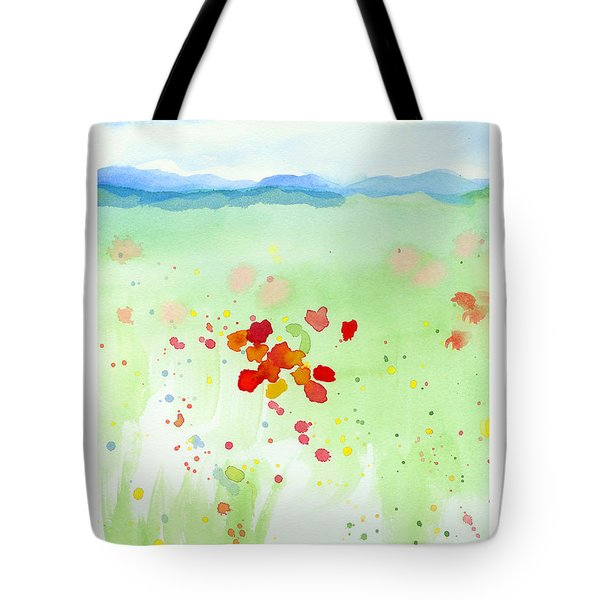 Field Of Flowers 2 Tote Bag by C Sitton