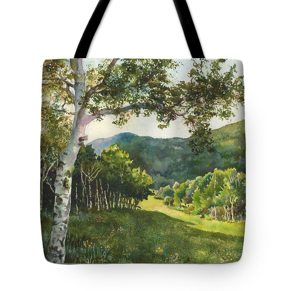 Field Of Light At Caribou Ranch Tote Bag