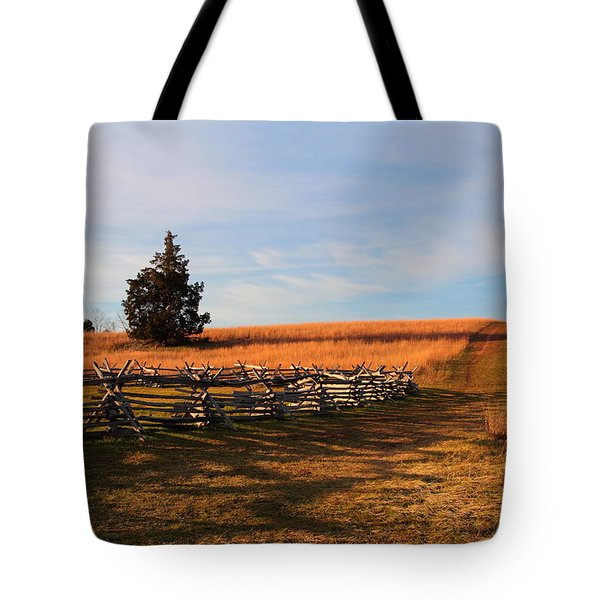 Field Of Shadows Tote Bag
