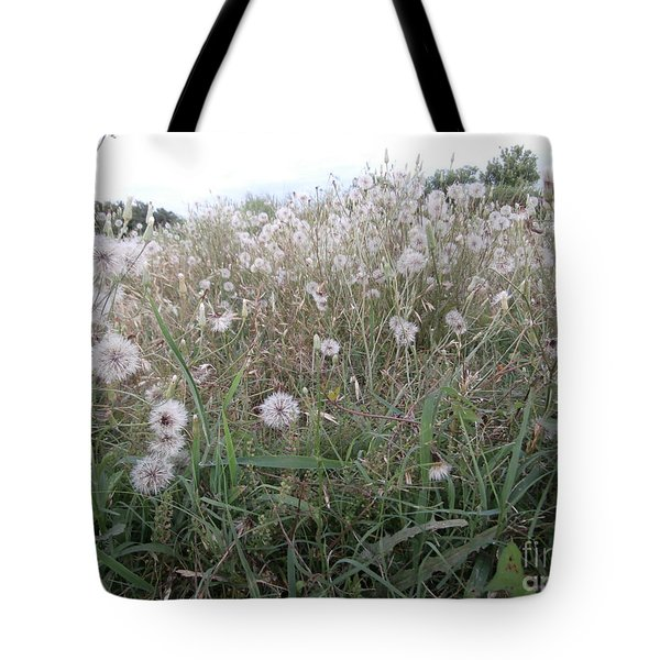 Field Of Youthful Dreams Tote Bag by Joseph Baril