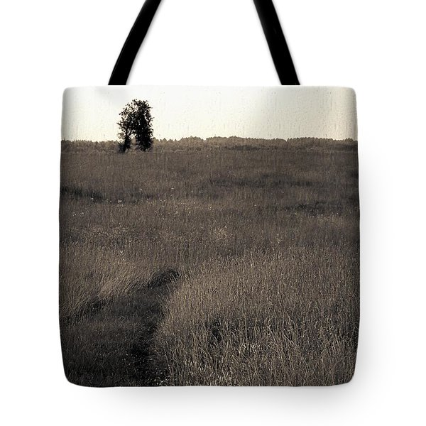 Field Ways Tote Bag by Yevgeni Kacnelson