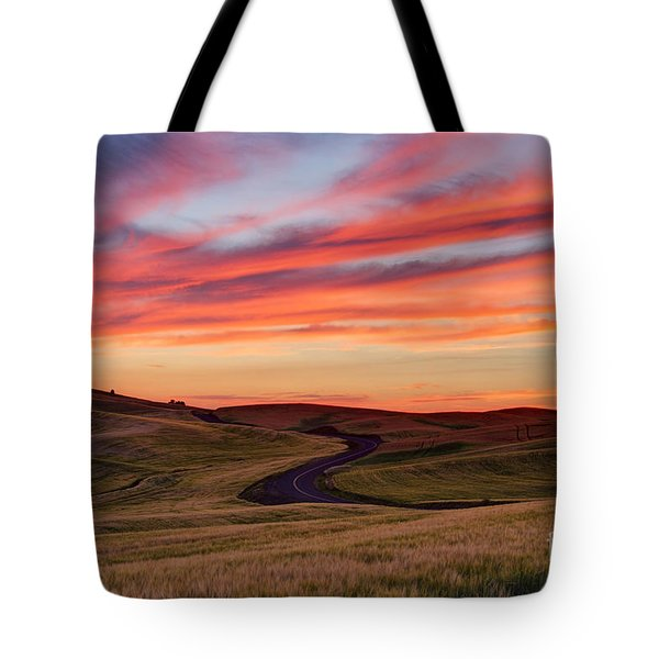 Fields And Dreams Tote Bag