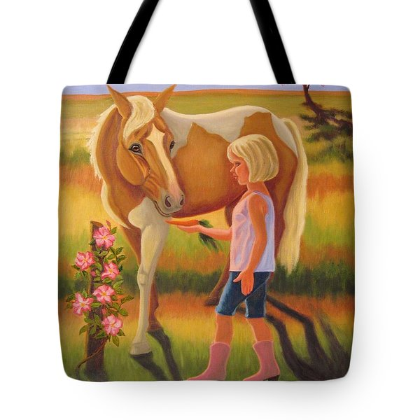 Fields Of Blessing Tote Bag