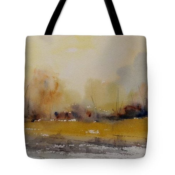 Tote Bag featuring the painting Fields Of Gold by Sandra Strohschein
