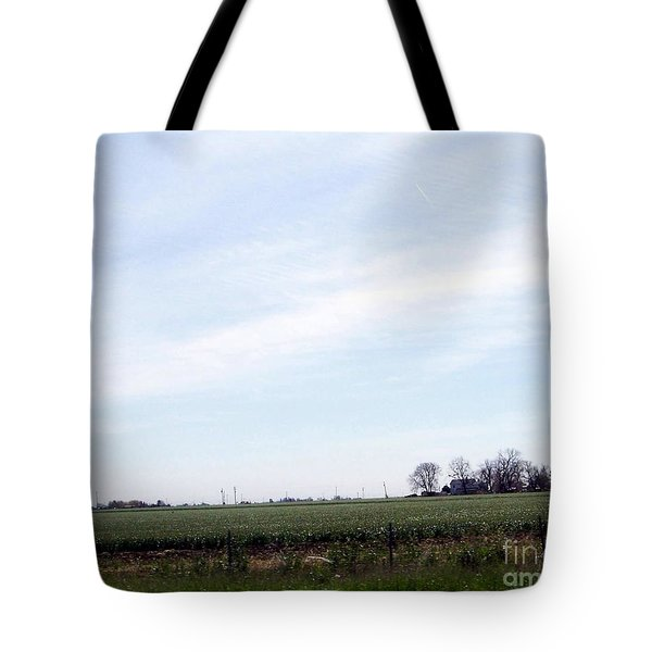 Tote Bag featuring the photograph Fields Of Source by Bobbee Rickard