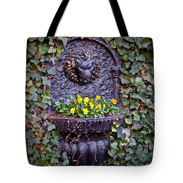 Fierce Garden Tote Bag by Jean Haynes