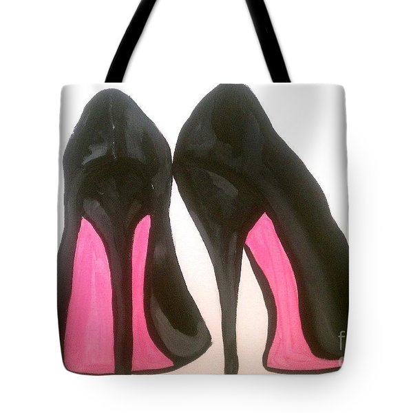 Fierce Tote Bag by Marisela Mungia