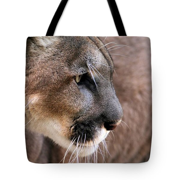 Tote Bag featuring the photograph Fierce by Sabrina L Ryan