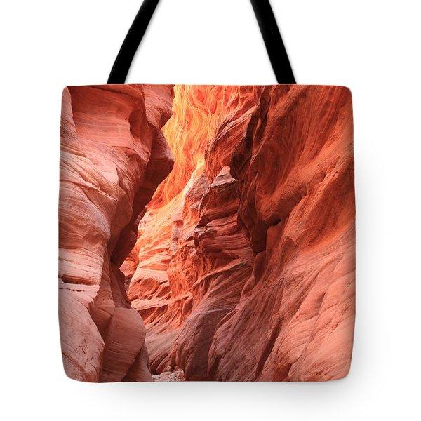 Fiery Narrows Tote Bag