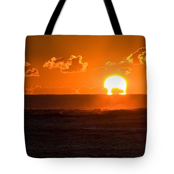 Fiery Sunrise Tote Bag