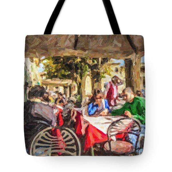 Fiesole Al Fresco Tote Bag
